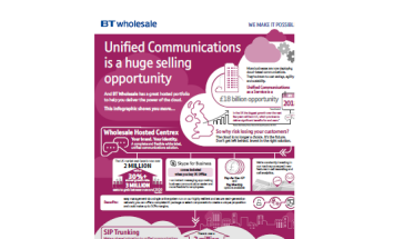 Infographic - Hosted Communication services